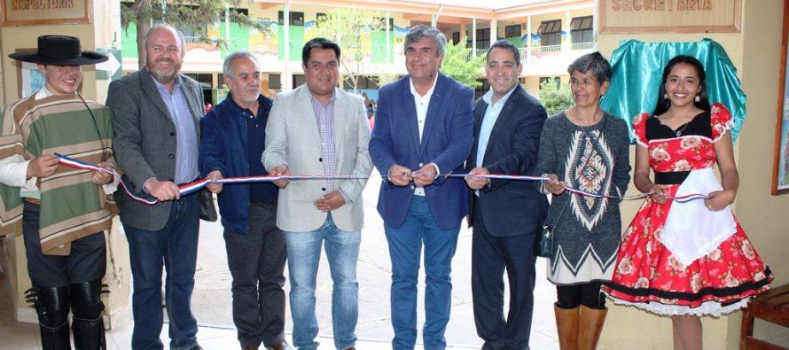 Liceo de Vicuña estrena paneles fotovoltaicos para su autoconsumo