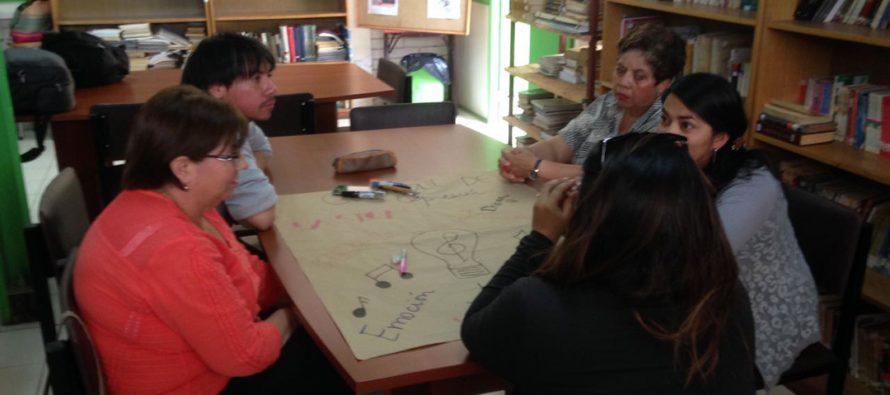 Realizan capacitación docente sobre Cuaderno Pedagógico en liceo Carlos Mondaca de Vicuña