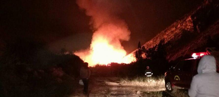 Llaman a tomar precauciones con el pasto seco ante riesgo de incendios forestales