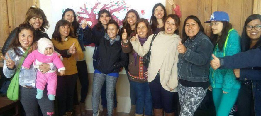 Mujeres recibieron herramientas que les permitirá fomentar la corresponsabilidad en el hogar en Vicuña