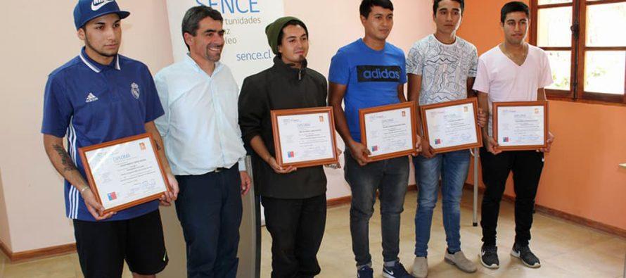 Más Capaz de SENCE certificó a participantes de Paihuano
