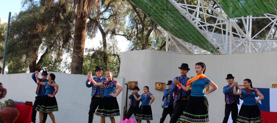 Agrupaciones de diversos puntos del país participaron en el Carnaval del Folclor en Vicuña