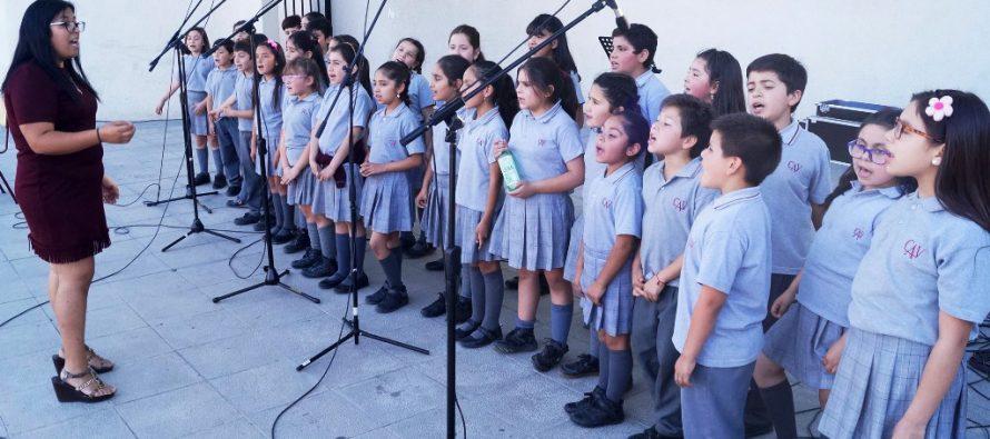 Colegio Antonio Varas Realiza Itinerancia Coral