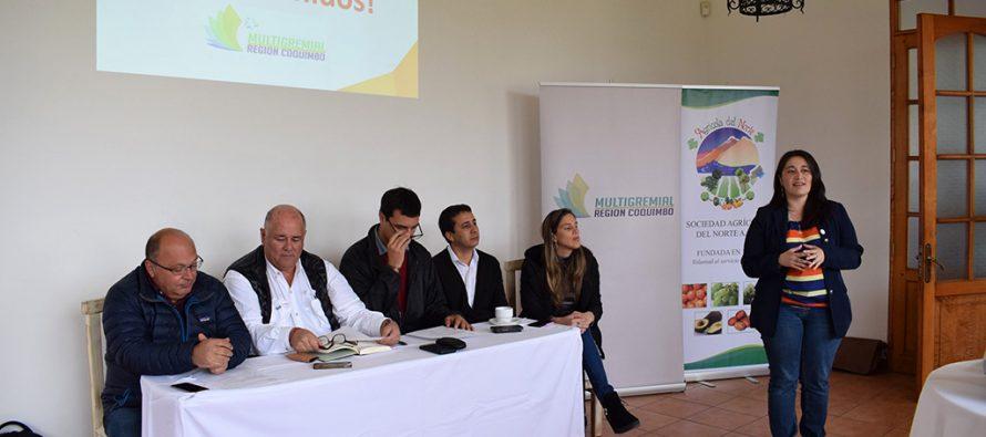 Multigremial regional incorpora a Pisco Chile como nuevo asociado e inicia audiencias con candidatos