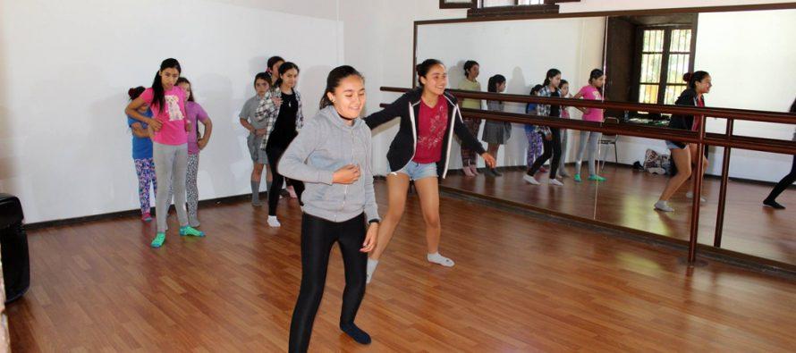 Casa de la Cultura de Vicuña cuenta con moderna y equipada sala de danza
