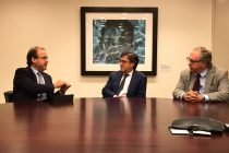 Ministro Undurraga se reúne con Presidente del BID en Washington por Túnel de Agua Negra