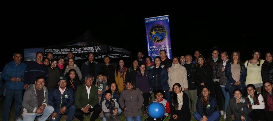 """Mes de las Estrellas vivió su """"Star Party"""" en el Parque Los Pimientos de Vicuña"""