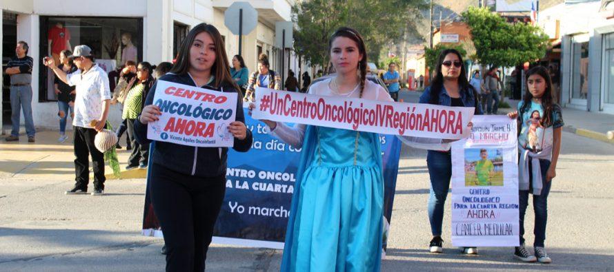 Un gran carnaval se vivió en Vicuña para ayudar a los niños con cáncer de la región de Coquimbo