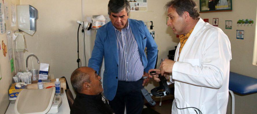 Realizan operativo oftalmológico a los pacientes con diabetes en localidades de Vicuña