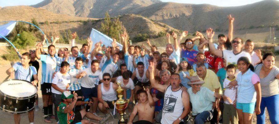 Luego de 76 años el CD Joaquín Vicuña pudo gritar campeón en primera división del ANFA
