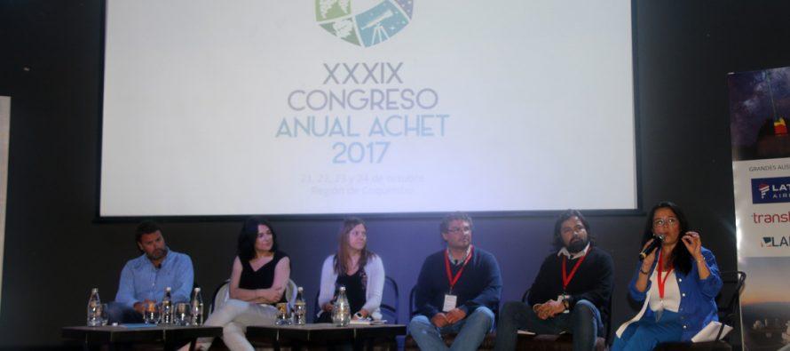 Vicuña dijo presente en Congreso Anual de la Asociación Chilena de Empresas de Turismo