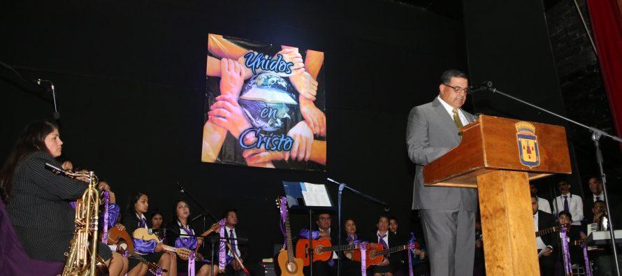 """Con el eslogan """"Unidos en Cristo"""" conmemoran en Vicuña a las Iglesias Evangélicas y Protestantes"""