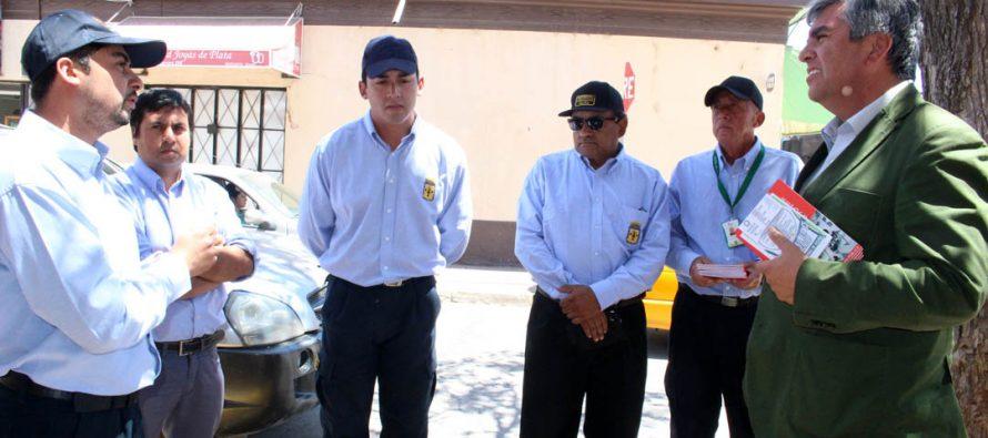 En Vicuña presentan a nuevo personal de apoyo a la seguridad del centro de la ciudad