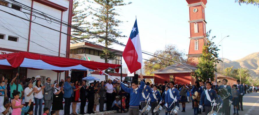 Cerca de un millar de estudiantes dieron vida al X Encuentro Interregional de Bandas en Vicuña