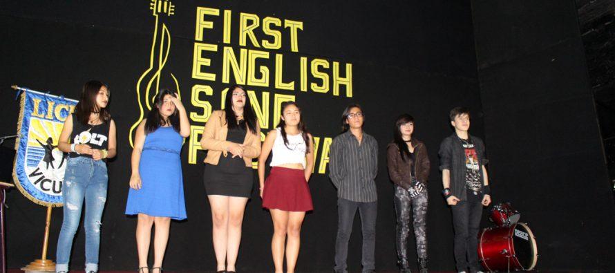 Con éxito se desarrolló el primer festival de la canción en inglés en la comuna de Vicuña