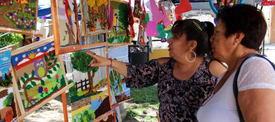 Feria Mujer Emprende 2017 tuvo lugar en la plaza de Paihuano