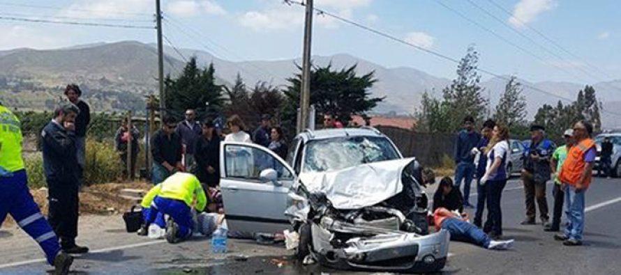 Recién nacido continúa grave en Coquimbo debido a accidente en Algarrobito