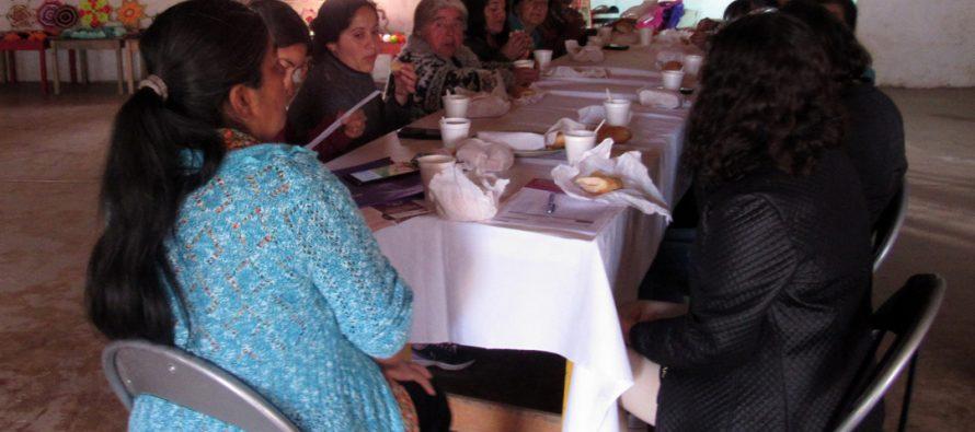 Mujeres de Villa El Arrayán se informaron sobre violencia contra las mujeres desde la mirada masculina