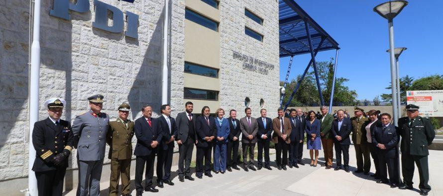 En el nuevo cuartel de Vicuña se realizó cambio de mando regional de la PDI