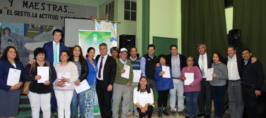 74 familias de Vicuña recibieron subsidios del programa de Protección del Patrimonio Familiar