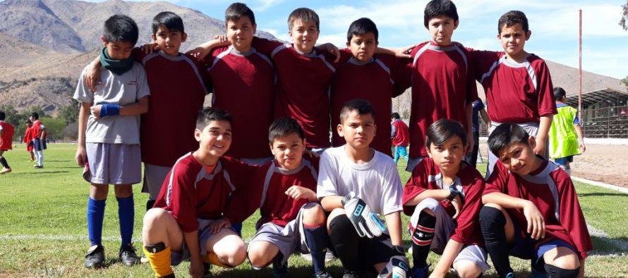 270 niños disfrutaron del 3er torneo Infantil Escolar de Futbolito en Vicuña