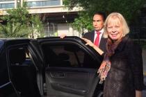 Embajadora de EEUU destaca importancia de las ciencias, la astronomía y el inglés  en visita a Vicuña y Paihuano