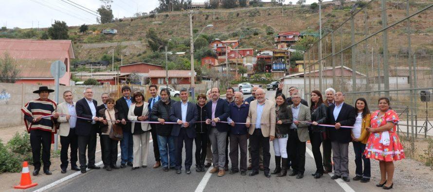 Vecinos de Alfalfares reciben nuevo camino pavimentado por el Gobierno