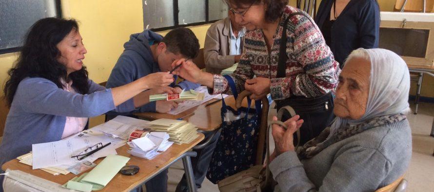 Con normalidad se desarrolla proceso eleccionario en la Provincia de Elqui