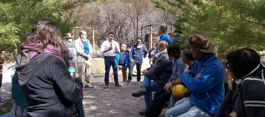 Alcalde de Paihuano estima reconstrucción de pueblo artesanal de Horcón en un plazo de dos años