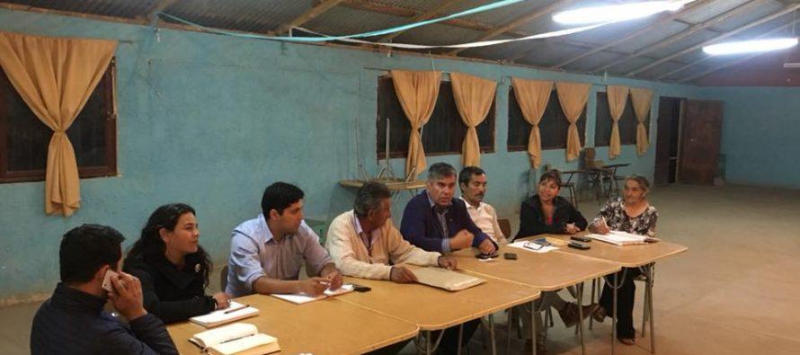 Lourdes continúa proyecto de urbanización con presentación de nueva directiva de JJ.VV