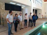 Proyectan funcionamiento piscina semi olímpica  de Complejo Deportivo de Pisco Elqui