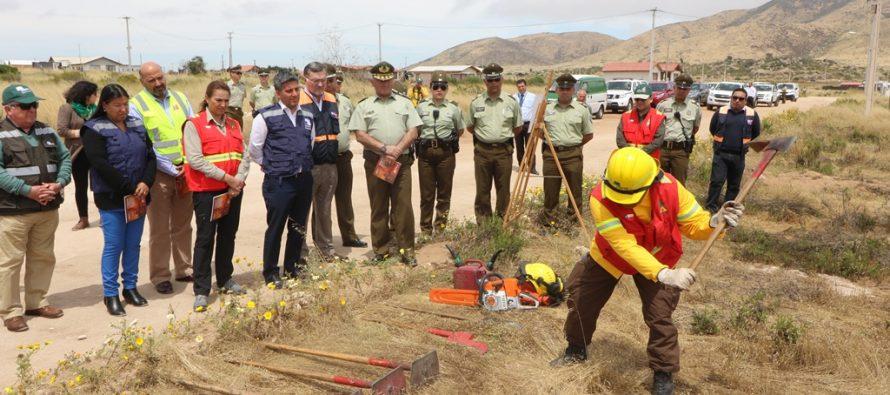 Gobierno llama a adoptar medidas para prevenir incendios forestales