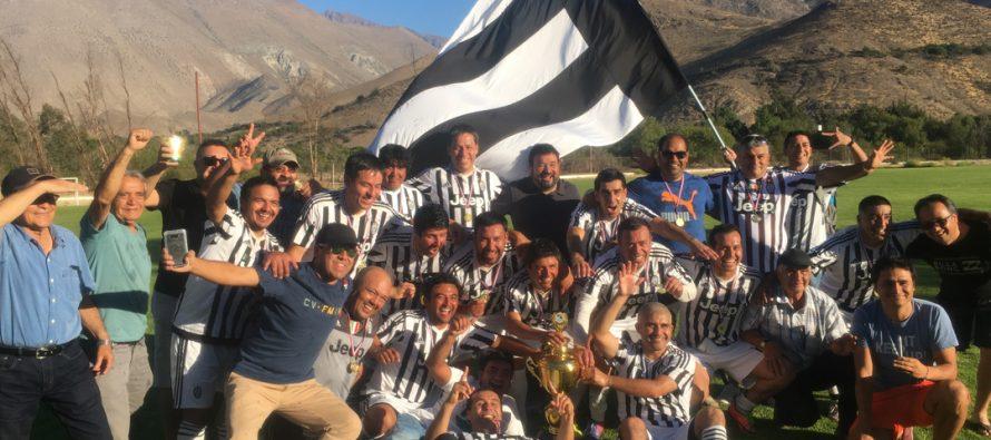 CD Juventus se corona campeón del torneo Senior 35 de Vicuña 2017