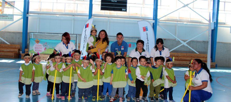 Realizan cierre de programa de Jardines Activos del IND en polideportivo Carlos Munizaga