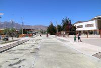 Quiero Mi Barrio cierra construcción con pavimentación de calle y mejoramiento de plaza