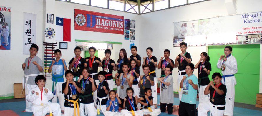 Jóvenes de Vicuña son los nuevos campeones nacionales de Taekwondo ITF