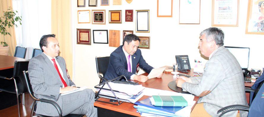 Alcalde de Vicuña y el nuevo prefecto de Elqui de la PDI acuerdan trabajos en conjunto