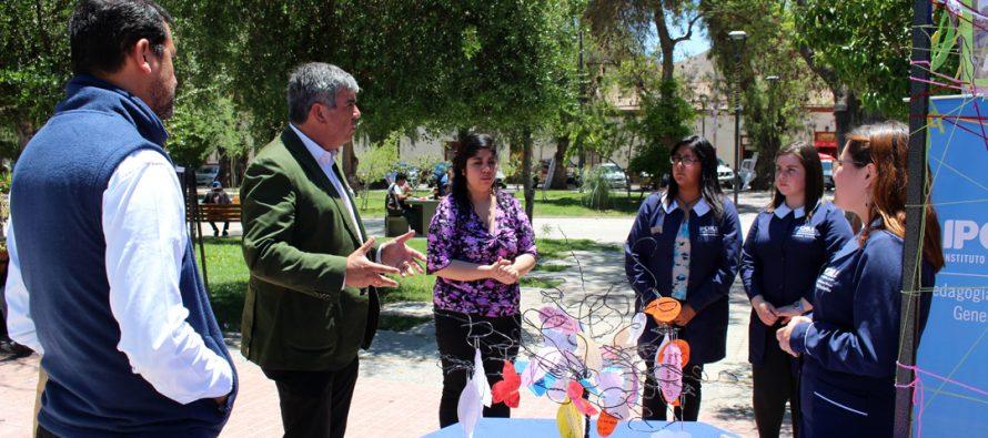 Con éxito se desarrolló la primera intervención social del IP Chile en Vicuña