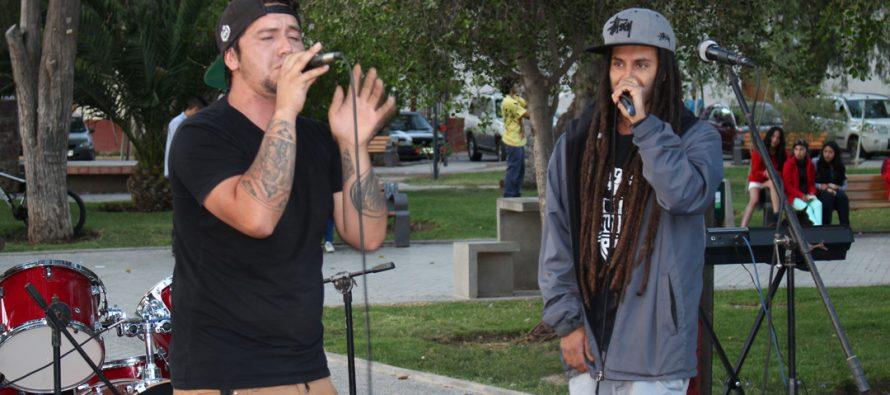 Estudiantes de Vicuña dan vida al primer Boulevard de la Juventud