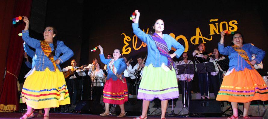 Agrupación de profesores Elki celebró sus 20 años con canto, danza y una representación teatral