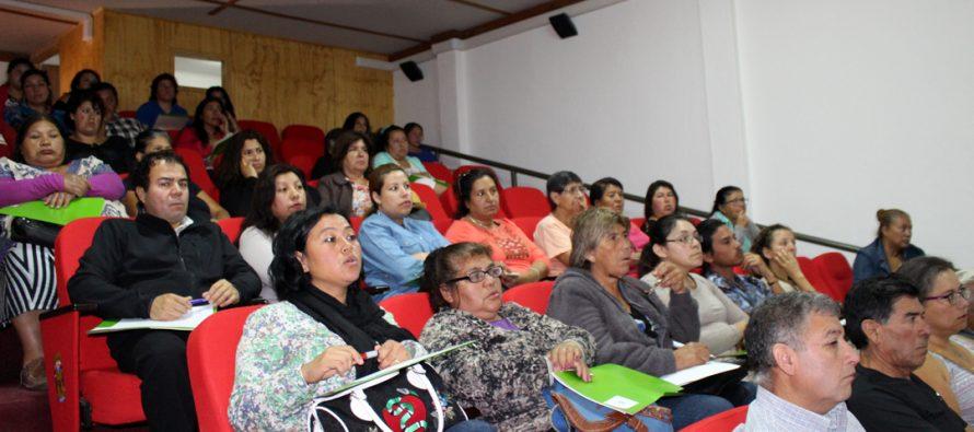 Con gran convocatoria se desarrolló el primer seminario sobre derechos indígenas en Vicuña