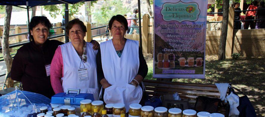 Agricultores de Paihuano participaron del Primer Mercado Campesino desarrollado en Pisco Elqui