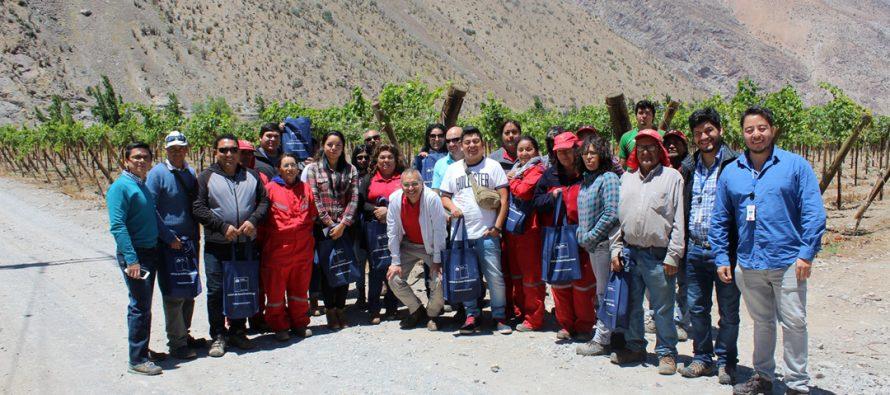 Trabajadores agrícolas reciben charla preventiva sobre protección solar y plaguicidas en Rivadavia