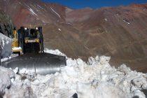 Luego de los trabajos en lado argentino se anuncia la apertura del Paso de Agua Negra