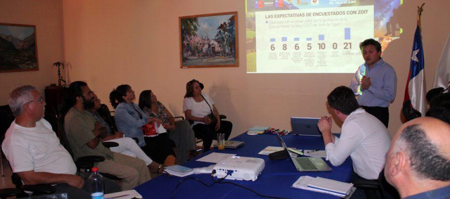 Empresarios turísticos de Paihuano y Vicuña  conocen detalles del programa ZOIT