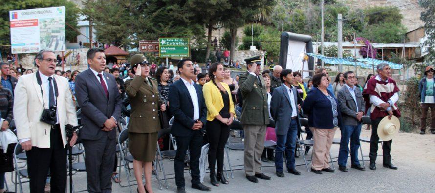 Horcón celebra 50 años desde su creación con reconocimientos a vecinos