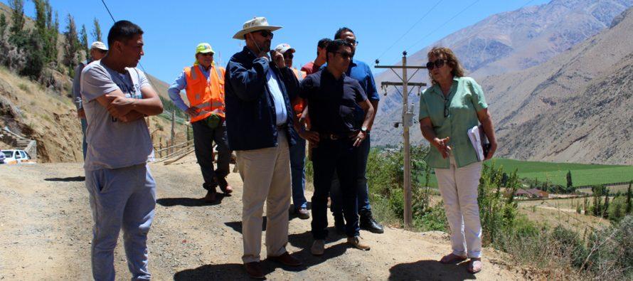 Proyectan el mejoramiento de diversos caminos en la comuna de Paihuano