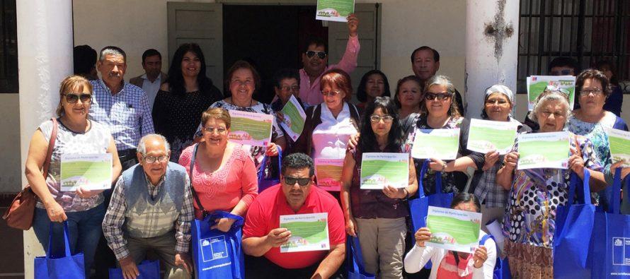 Dirigentes sociales de Vicuña se capacitan en programas habitacionales