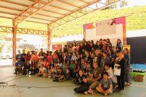 """Más de 100 estudiantes de la región observaron el cielo y las estrellas en el campamento astronómico """"Astroclubes"""" en Montegrande"""