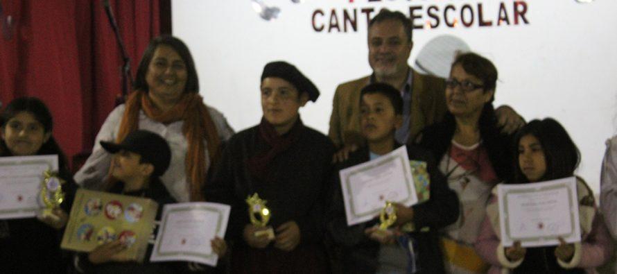 Escuela cultural Dagoberto Campos Núñez vivió su Festival de Canto